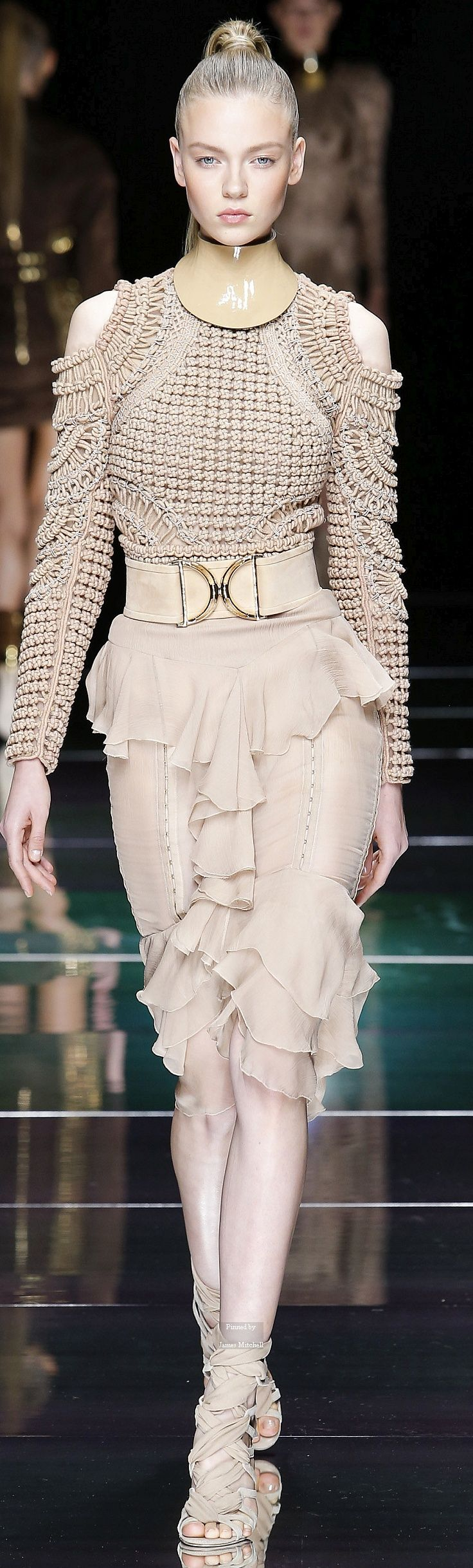 Balmain Collection Spring 2016 Ready-to-Wear