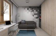 Biuro styl Nowoczesny - zdjęcie od BAGUA Pracownia Architektury Wnętrz