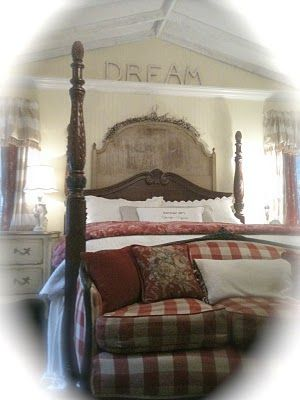 French Country Cottage...Dreams Bedrooms, French Headboards, French Country Cottages, Cottages Bedrooms, French Country Bedrooms, Master Bedrooms, French Cottages, Cottage Bedrooms, Bedrooms Ideas