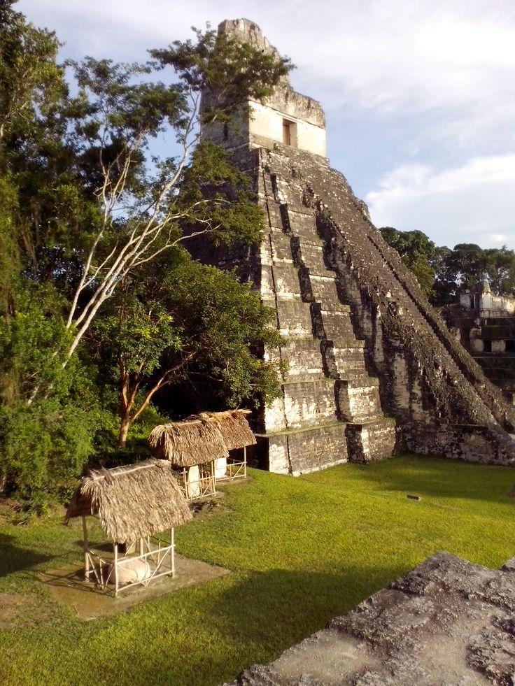 Piramide del Jaguar, Tikal, Guatemala