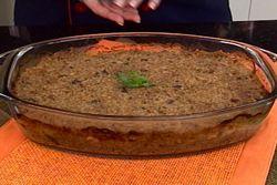 KIBE-FLOR ASSADO (carne moida, couve-flor e trigo)De Couve Flor, Kibe Flor Assado, Quibe Flor Assado, Kibeflor Assado