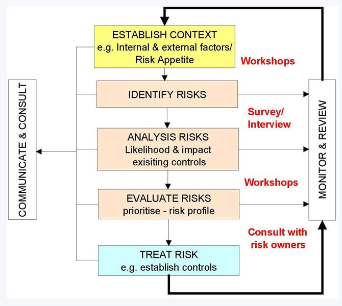 risk management diagram - Google Search