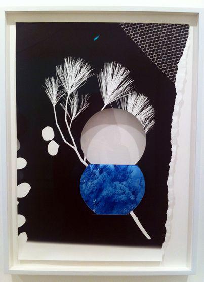 Letha Wilson, Badlands White, c-prints, concrete, 2012