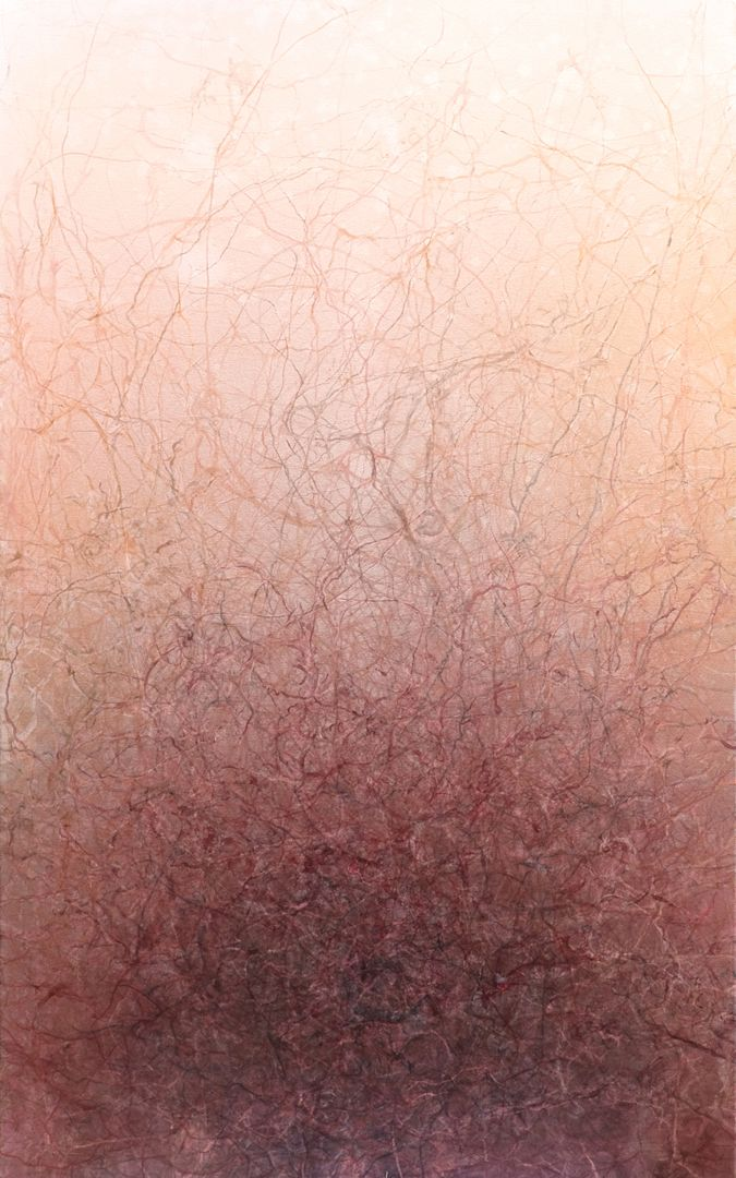 647 - vermigraph, 1000*1600 mm watercolor on canvas © Anita Levering 2016