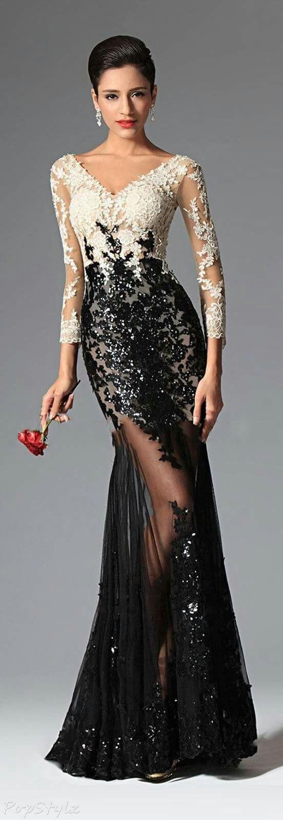 114 best vestidos y más images on Pinterest | Abendkleid ...