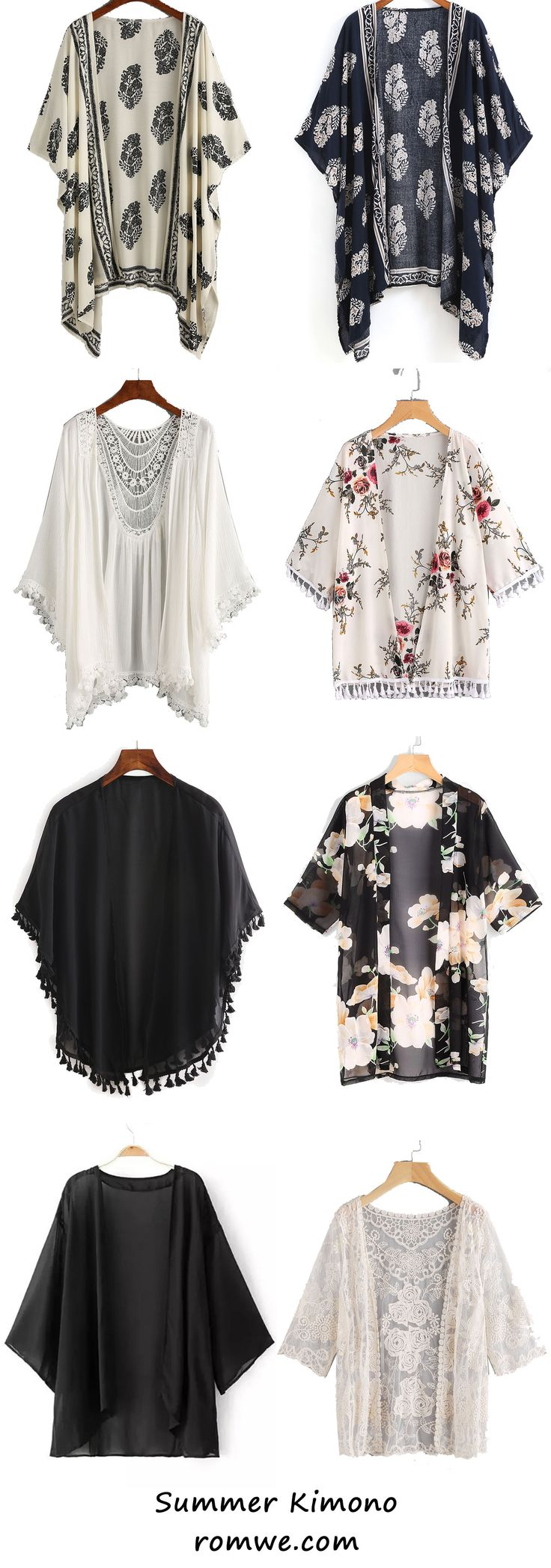 Love the idea of a kimono - never tried it, don't know how to wear it, but ready to try new things