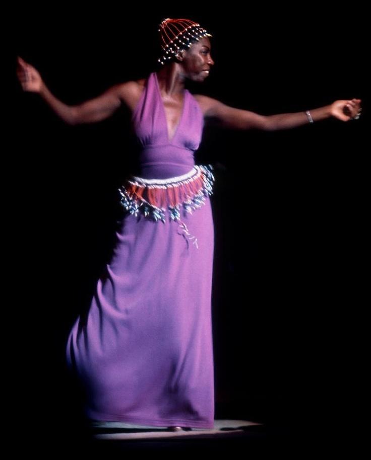 Nina Simone NYC by Jim Marshall circa 1960