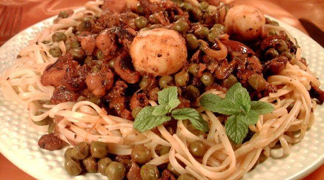 Octopus stew recipe