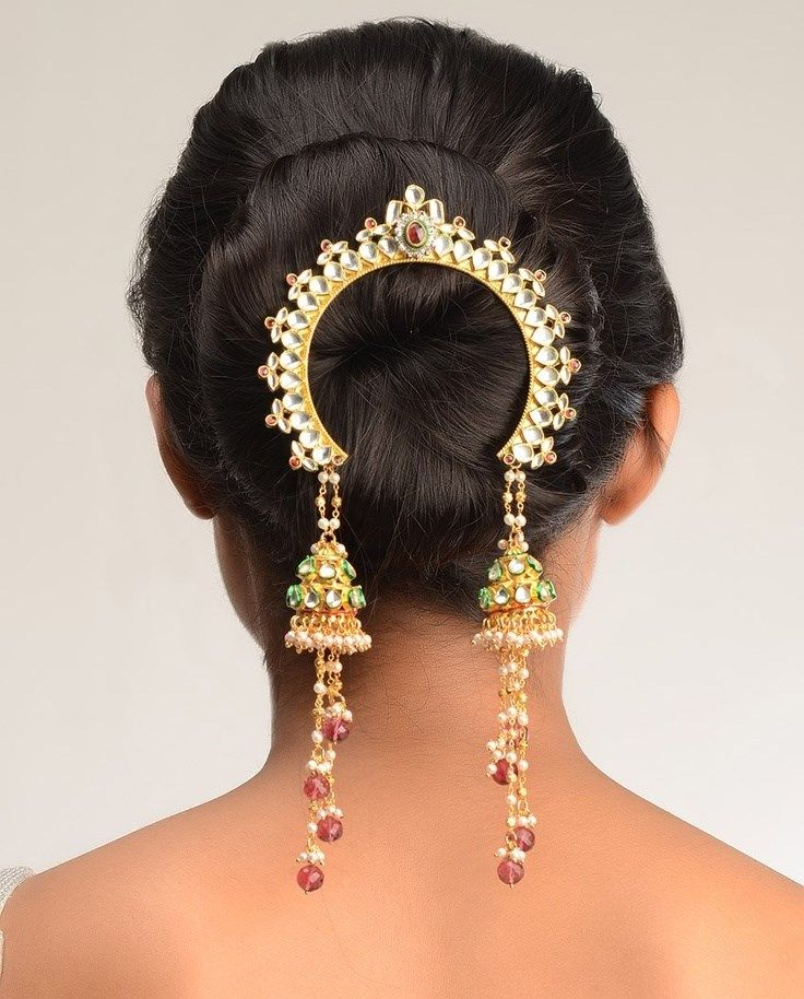 Wedding Hairstyles With Jewels: Bridal Jewellery From Maharashtra