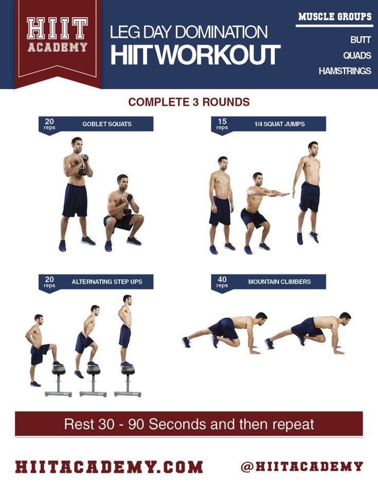 1000+ images about HIIT Workouts For Men on Pinterest ...