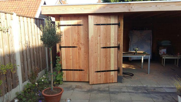 tuinhuis deuren zelf maken garden house doors diy gartenhaus t r selber bauen. Black Bedroom Furniture Sets. Home Design Ideas