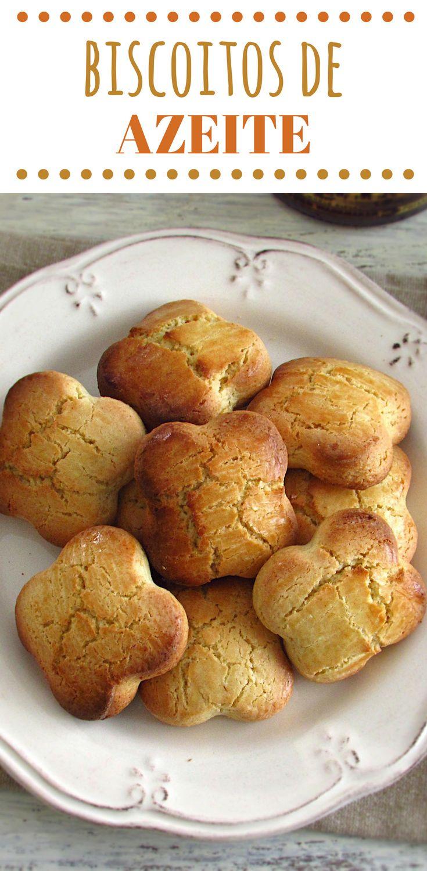 Biscoitos de azeite | Food From Portugal. Simples e rápidos, estes biscoitos têm um delicioso aroma a azeite. Não perca tempo e prepare-os já! #receita #biscoitos #azeite