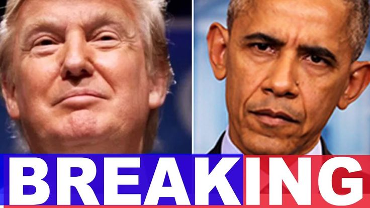 Breaking: Trump Just Got BIG NEWS About Obama's Shadow Government Leakers | Top Stories Today - YouTube