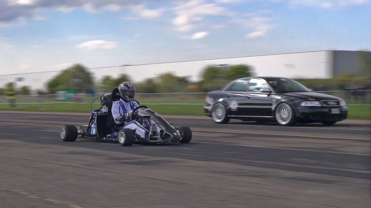 230HP Kart CBR1000RR Fireblade vs 1080HP Audi S4 B5 vs 9ff TR 1300