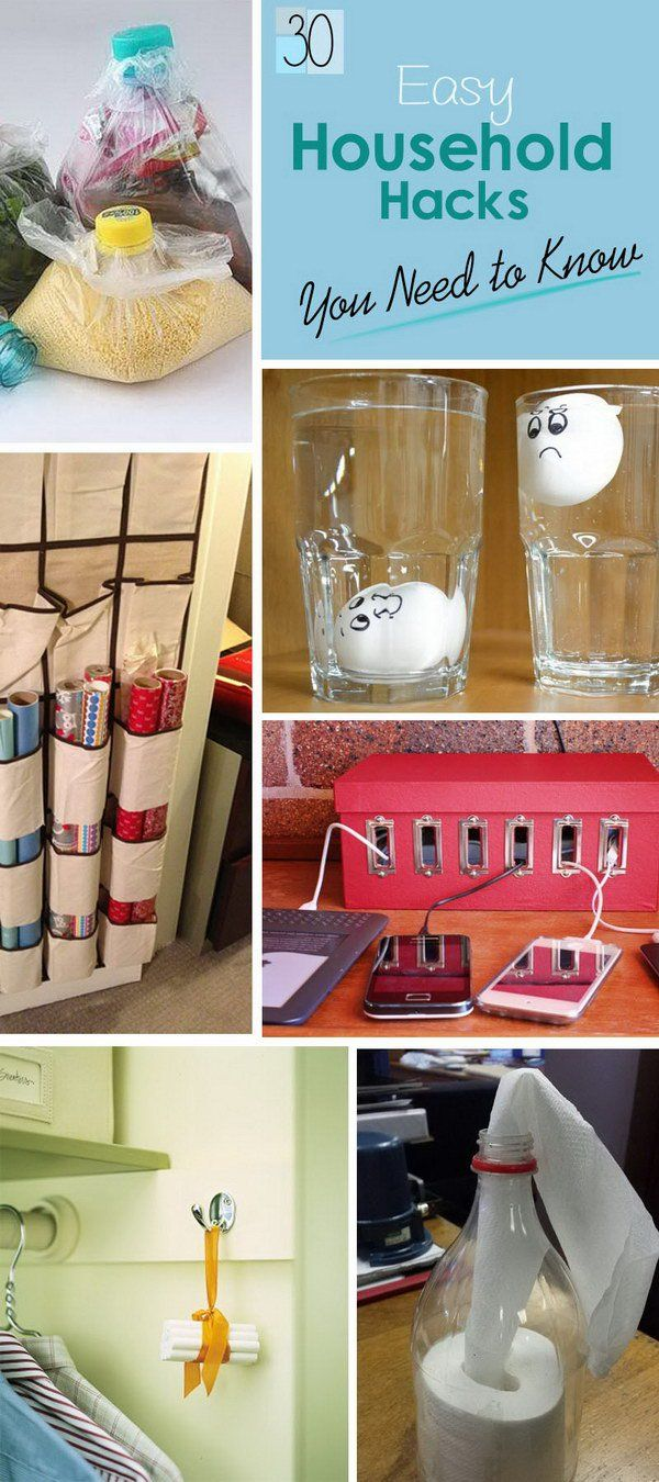 Lots of Easy Household Hacks You Need to Know!
