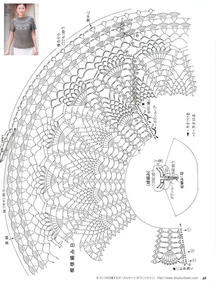 Crochetpedia: Crochet Tshirt Blouse