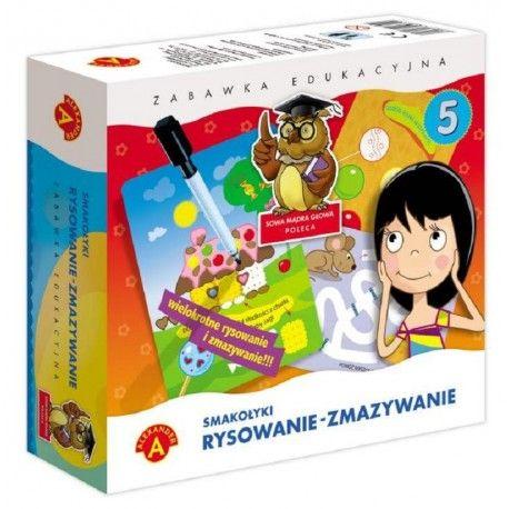 Witajcie:) Nowy rok szkolny już przed nami:)  Nowa, Zabawka Edukacyjna dla Dzieci od lat 4 Rysowanie Zmazywanie - Smakołyki.   Zabawa polega na na rysowaniu po śladzie, dzięki czemu dziecko uczy się właściwego kształtu przedmiotów, ćwiczy umiejętności manualne oraz spostrzegawczość.  Sprawdźcie sami:)  http://www.niczchin.pl/nauka-kolorow-ksztaltow-dla-dzieci/2869-rysowanie-zmazywanie-smakolyki.html  #rysowaniezmazywanie #smakolyki #zabawkaedykacyjna #zabawki #niczchin #krakow