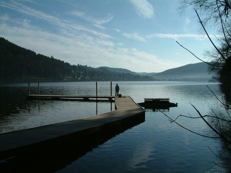 lac Gerardmer, Les Vosges, Lorraine