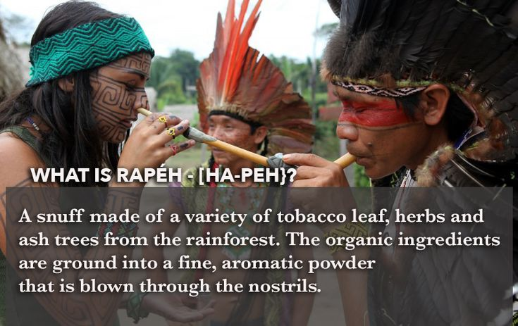 The Rapé (Hape') snuff (Tobacco Snuff) is sacred medicine from the indigenous people of the Forest….