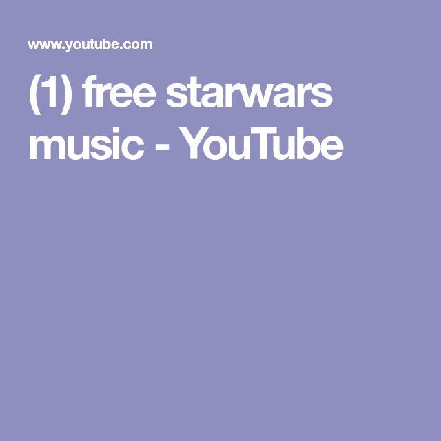 (1) free starwars music - YouTube