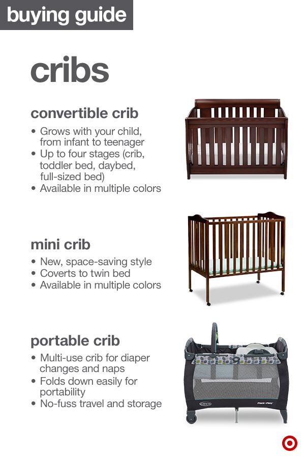 Cribs Come In All Styles, Finishes And Conveniences. The 3 Main Types Of  Cribs Are The Convertible Crib, Mini Crib And The Portable Crib (aka Play  Yard).