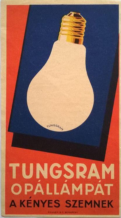 Tungsram Opál lámpát a kényes szemnek | Tungsram Opal Lamp for the sensitive eye (Csemiczy Tihamér)