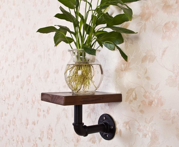 48.00$  Know more  - 2015 American Vintage Loft Industrial Water Pipe Bookshelf Towel Toilet Shelf Holder Stand With Wood Bathroom Accessory