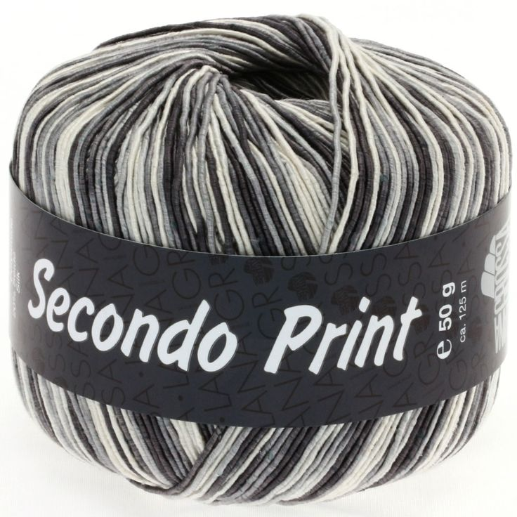 SECONDO print II 510-ercru/grey/anthracite