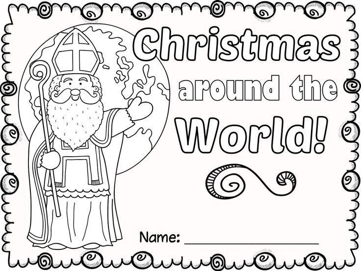 FREE Christmas Around the World NO PREP activities.