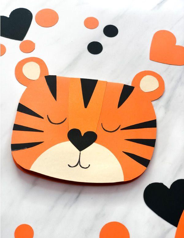 Kids Valentine Cards Animal Cards for Kids set of 7 Printable Safari Animal Valentine Cards for Kids Valentine DIY DIGITAL FILE