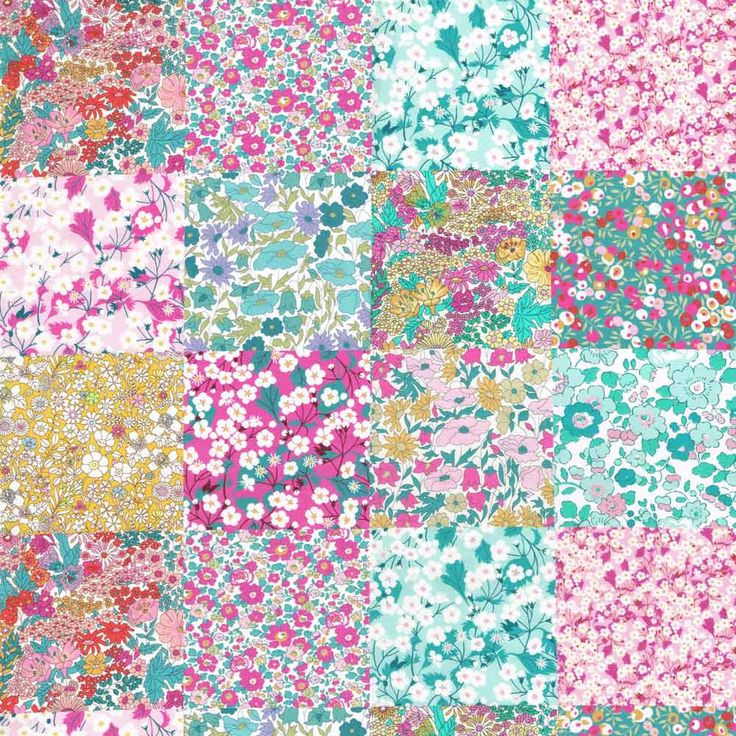 Liberty Fabric Tana Lawn Alice's Patchwork – NEW!
