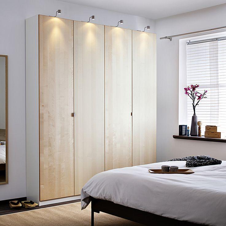Dressing Ikea : armoires, meubles et astuces pour organiser son rangement - Armoire Pax Nexus - IkeaArmoire-penderie 3 portes, motif bouleauPrix : 215 ? - Découvrez le top du dressing Ikea avec des modèles d'armoires, meubles et astuces très pratiques pour organiser son rangement.