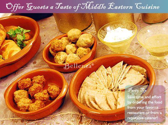 Arabian Party Food Ideas