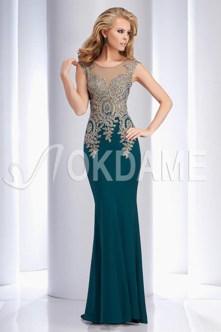 115 best Abendkleider images on Pinterest | Formal prom dresses ...