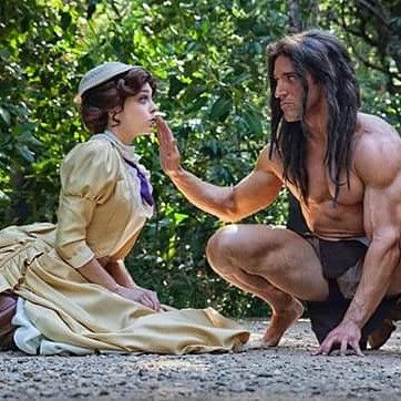 Tarzan Tuesday, with @joannalynnbert as Jane.  Oh, and we're planning on doing this at San Diego Comic Con Day 3!  FACEBOOK.COM/LONSTERMASH for MORE cosplay pictures  PHOTO TAKEN BY @conwomanphotography  YOUTUBE CHANNEL AT LONSTERMASH for my interviews with Hugh Jackman and Patrick Stewart (and lots of other fun stuff!) #tarzan #jungle #Jane #disney #Disneyland #Disneyworld #magickingdom #comicon #abs #shredded #doyouevenlift #doyouevenliftbro #ax #animeexpo #SDCC #moana #Frozen…