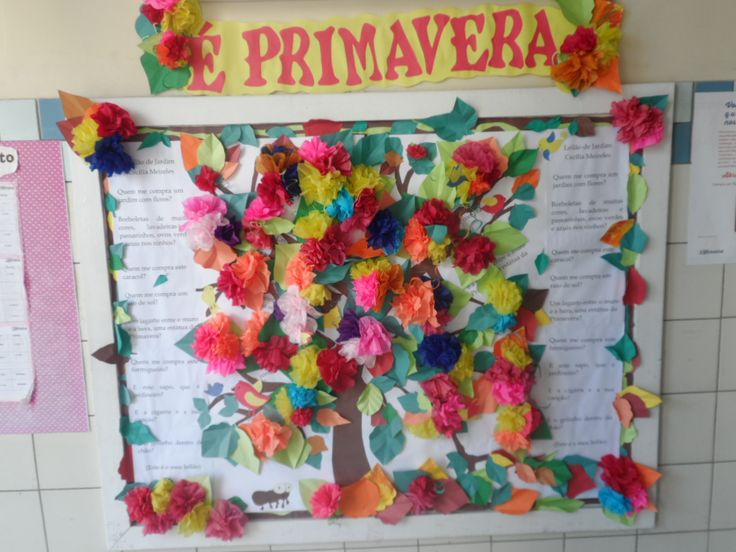 Painel Primavera 2017 - Ana      Dias Escola Experimental