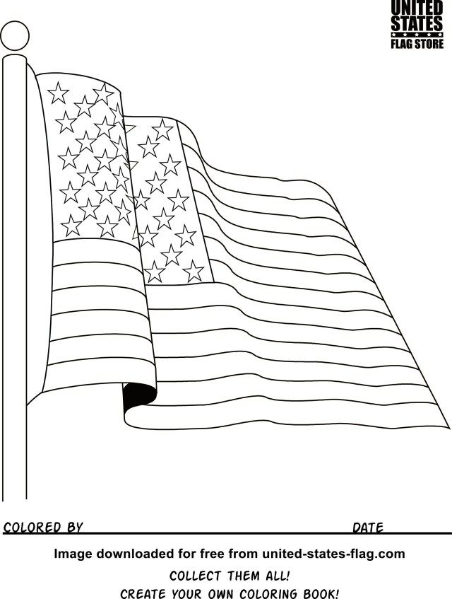 25 Beautiful Photo Of Flag Coloring Pages Coloring Pages To