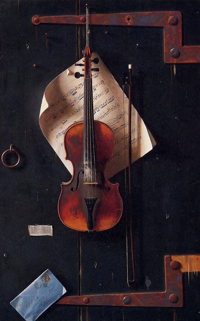 surface fragments: Exquisite Deception: The Trompe lOeil of William Harnett