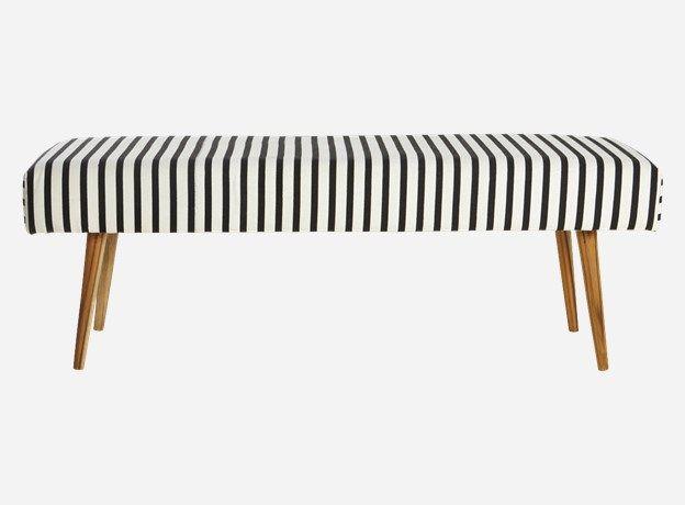 Ae0305 - Bench, Stripe, 115x40 cm, h.: 40 cm