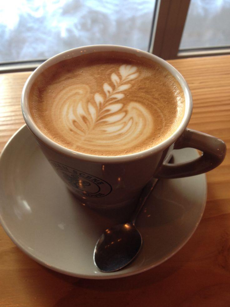 Latte at Bean Scene (Big White)