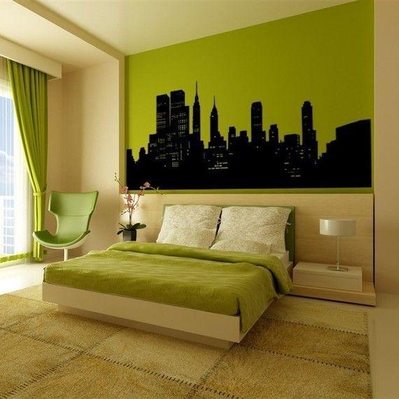 99 best apple green bedrooms images on pinterest for Apple green bedroom ideas