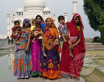 Pictures of traditional dress of uttar pradesh