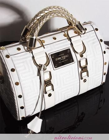 Versace | am feelin' this new Versace Couture Snap Bag! I luv the braided ...