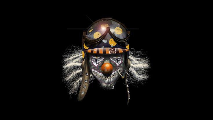 1920x1080 px clown pic free for desktop by Shepherd MacDonald