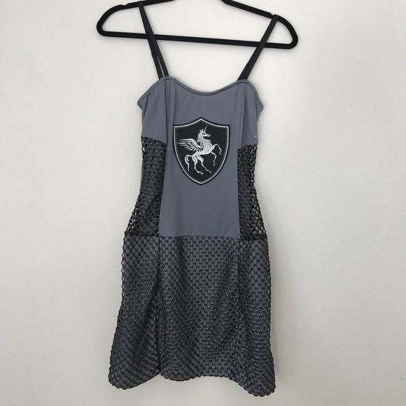 "LIP SERVICE Costume Vault ""Joan Of Anarchy"" short dress #97-343"