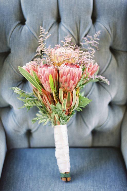 Challenge #4: Protea Inspiration   Bridal bouquets