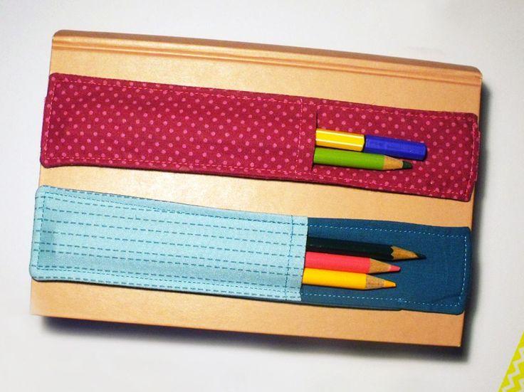 Meinen schnell genähten Stiftehalter habe ich ja schonmal gezeigt. Damals nur für mich genäht, eignet er sich aber auch besonders gut als k...