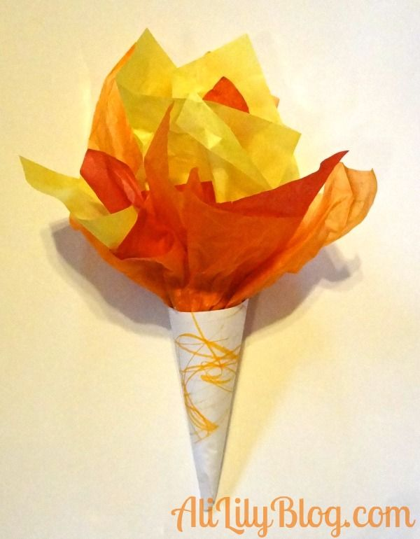 DIY olympic torch                                                                                                                                                     More