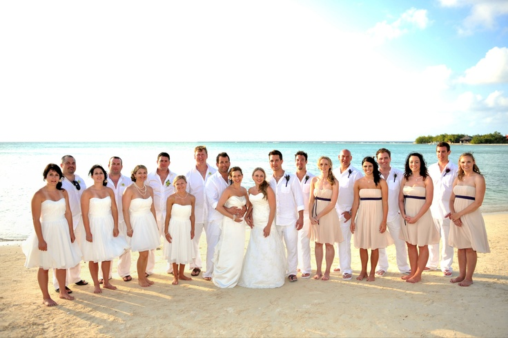 Rebecca & Devin, Kelly & Colby married at the RIU Montego Bay, Jamaica!