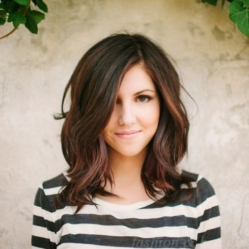 medium hair styles for women. I love this and it would be the perfect color match to my secret extensions